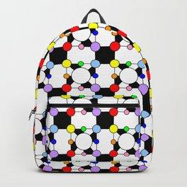 Symmetric patterns 150 rainbow Backpack