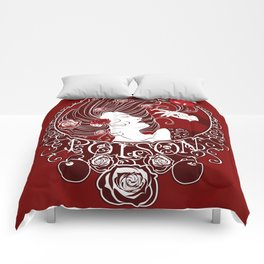 Poison - Blood Rose Comforters