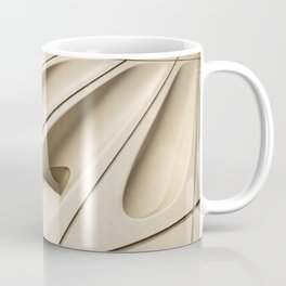 Architectural abstract of the Broad (rhymes with road), Los Angeles, California Coffee Mug