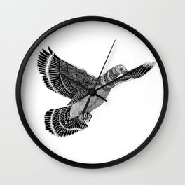 PIGEON-FLYING Wall Clock