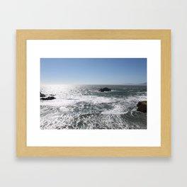 Lands End, San Francisco Framed Art Print