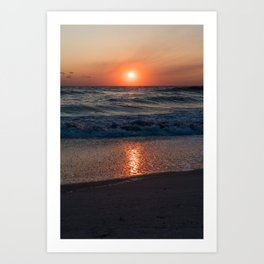 Canaveral Seashore Sunrise Art Print