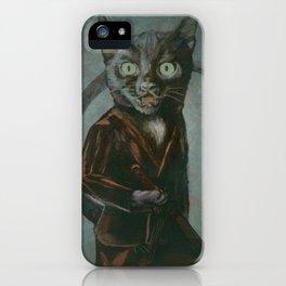 Samurai Kitty iPhone Case