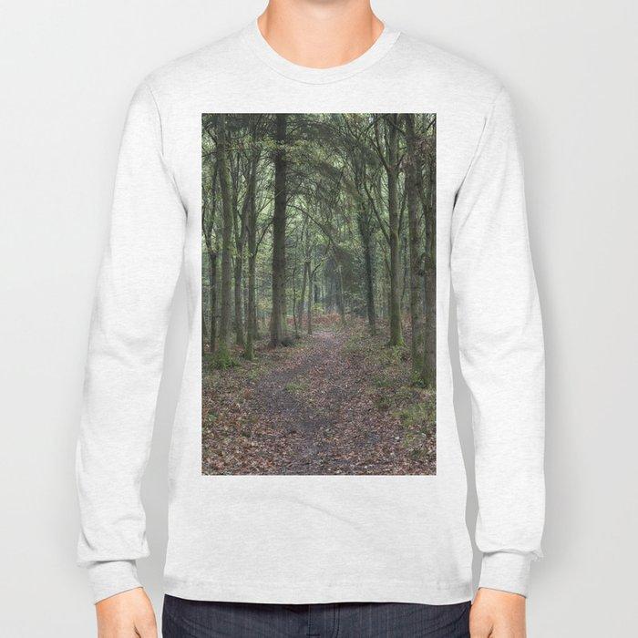 Footpath through the Oaks Long Sleeve T-shirt