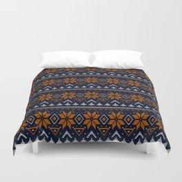Scandinavian, knitting Duvet Cover