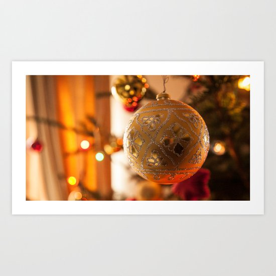 Bauble Art Print