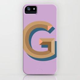 g iPhone Case
