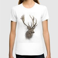 stag T-shirts featuring stag by emegi