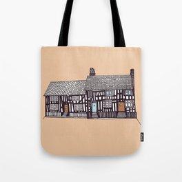 'Suffolk' House print Tote Bag