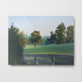 Country Morning in Tennessee Metal Print