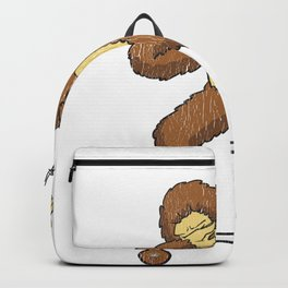 Skateboarding Bigfoot Sasquatch on Skateboard Gift for Skater  Backpack