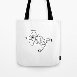 Yoga Dog - What's Up Lab? Tote Bag
