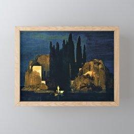 Island Of The Dead - Arnold Bocklin Framed Mini Art Print