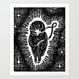 Star child Art Print