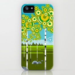 Greenwood iPhone Case