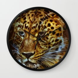 Jaguar 010 Wall Clock