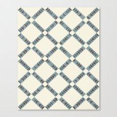 Navajo Winter Pattern Canvas Print