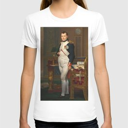 Jacques Louis David - The Emperor Napoleon in his study at the Tuileries T-shirt