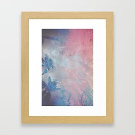 DESERT ICE Framed Art Print