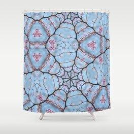 Redbud Possible Perception Shower Curtain