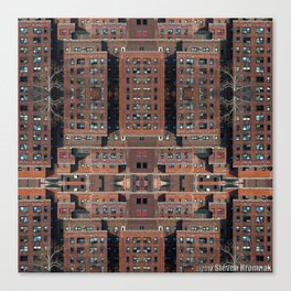 New York City - Lower East Side Canvas Print