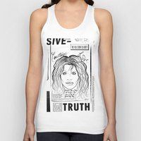 scandal Tank Tops featuring Courtney Scandal by CLSNYC