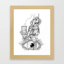 Dimensions of Anger  Framed Art Print