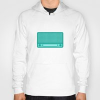 radio Hoodies featuring radio by brittcorry