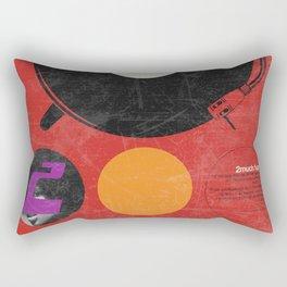 2 much Funk Rectangular Pillow