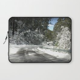 Winding road down Mt.Baw Baw Laptop Sleeve