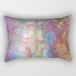 Galaxy Melt Rectangular Pillow