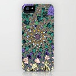 Fractal Paisleys iPhone Case