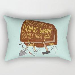 Mike Rowe Rectangular Pillow