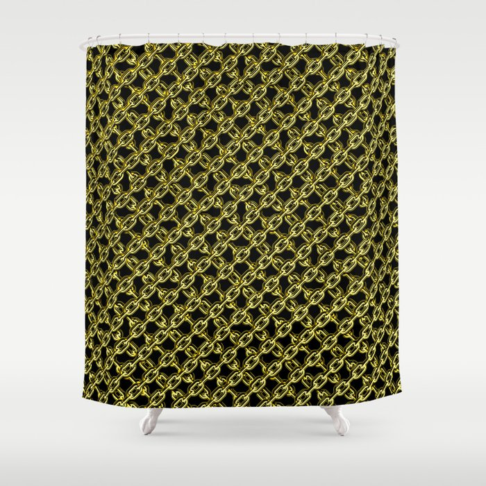 Bling Chain Shower Curtain