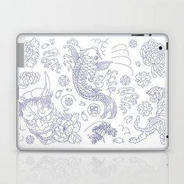 Japanese Tattoo Laptop & iPad Skin