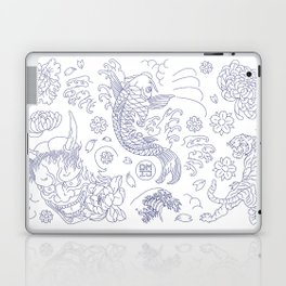 Japanese Tattoo Laptop & iPad Skin