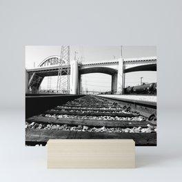 Sixth Street Bridge & Viaduct Mini Art Print