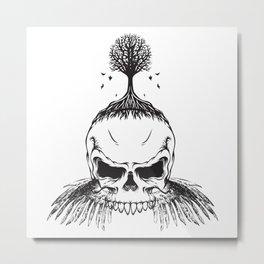 The Fall of Earth Metal Print