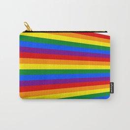 pride flag lgbt lgbtq queer lasoffittadiste rainbow Carry-All Pouch