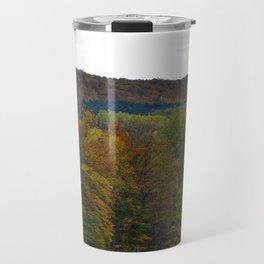 Fall Color Scenic Overlook Travel Mug
