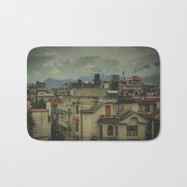 Kathmandu City Roof Tops - Architecture 03 Bath Mat