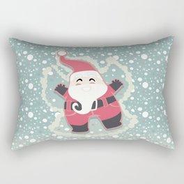 Festive moments - Snow Angel! Rectangular Pillow