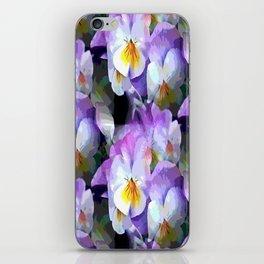 Pretty Violas iPhone Skin