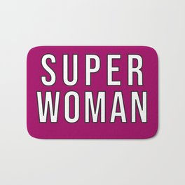 Superwoman Bath Mat