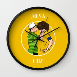 word cup2014 Wall Clock