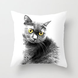 Muimui 4 Throw Pillow