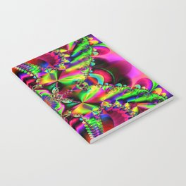 Abstract Fractal Fantasy 1 Notebook