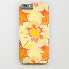 Autumn leaves #15 iPhone Case