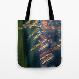 Metal Scratch Tote Bag