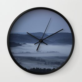 Sunrises near home Wall Clock